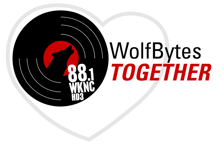WolfBytes Together logo - 88.1 WKNC HD3